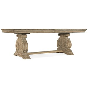 Rectangle Dining Table w/ Leaves