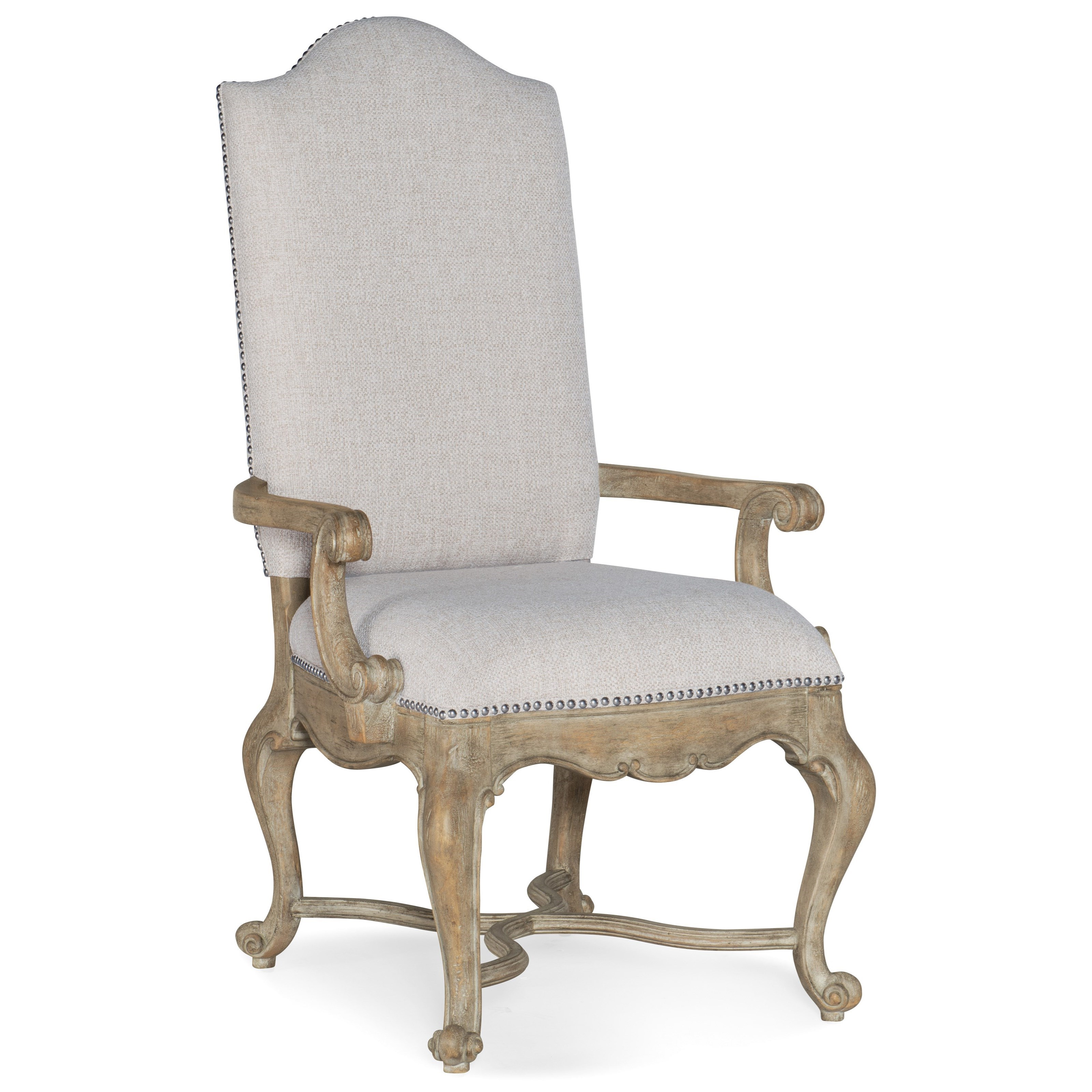 Castella Upholstered Arm Chair by Hooker Furniture at Stoney Creek Furniture