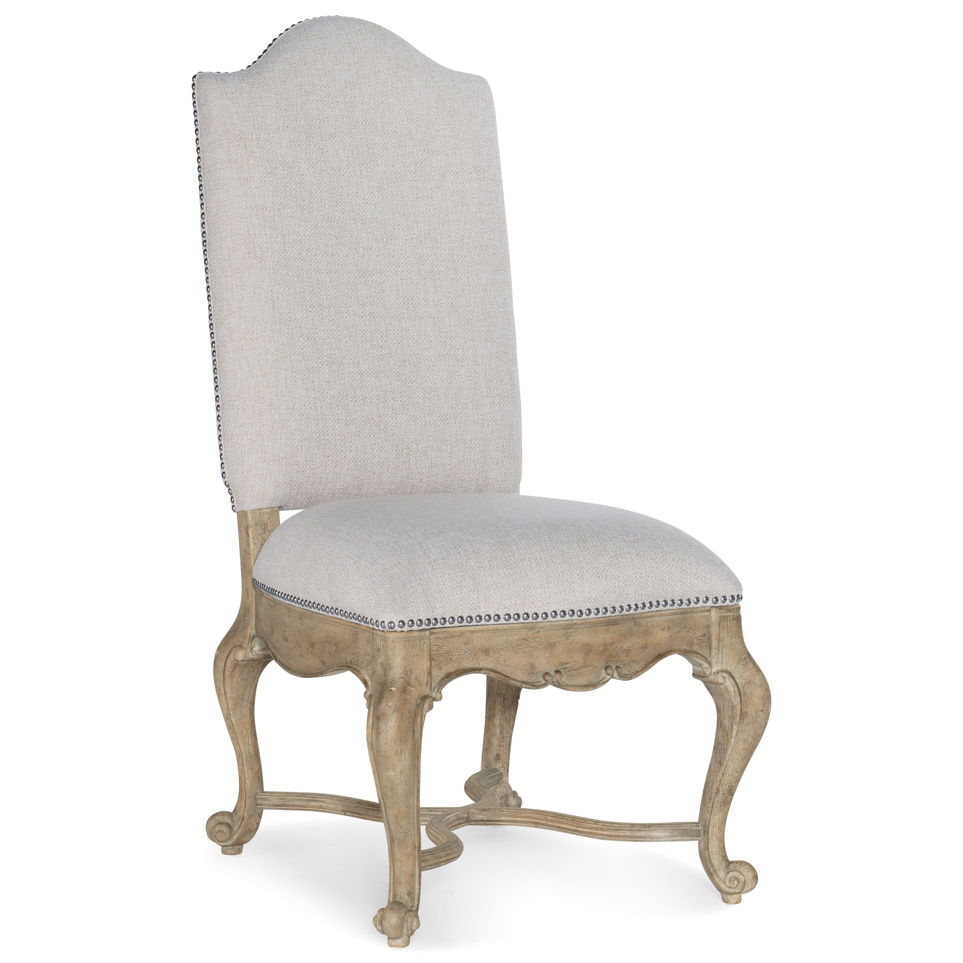 Castella Upholstered Side Chair by Hooker Furniture at Stoney Creek Furniture