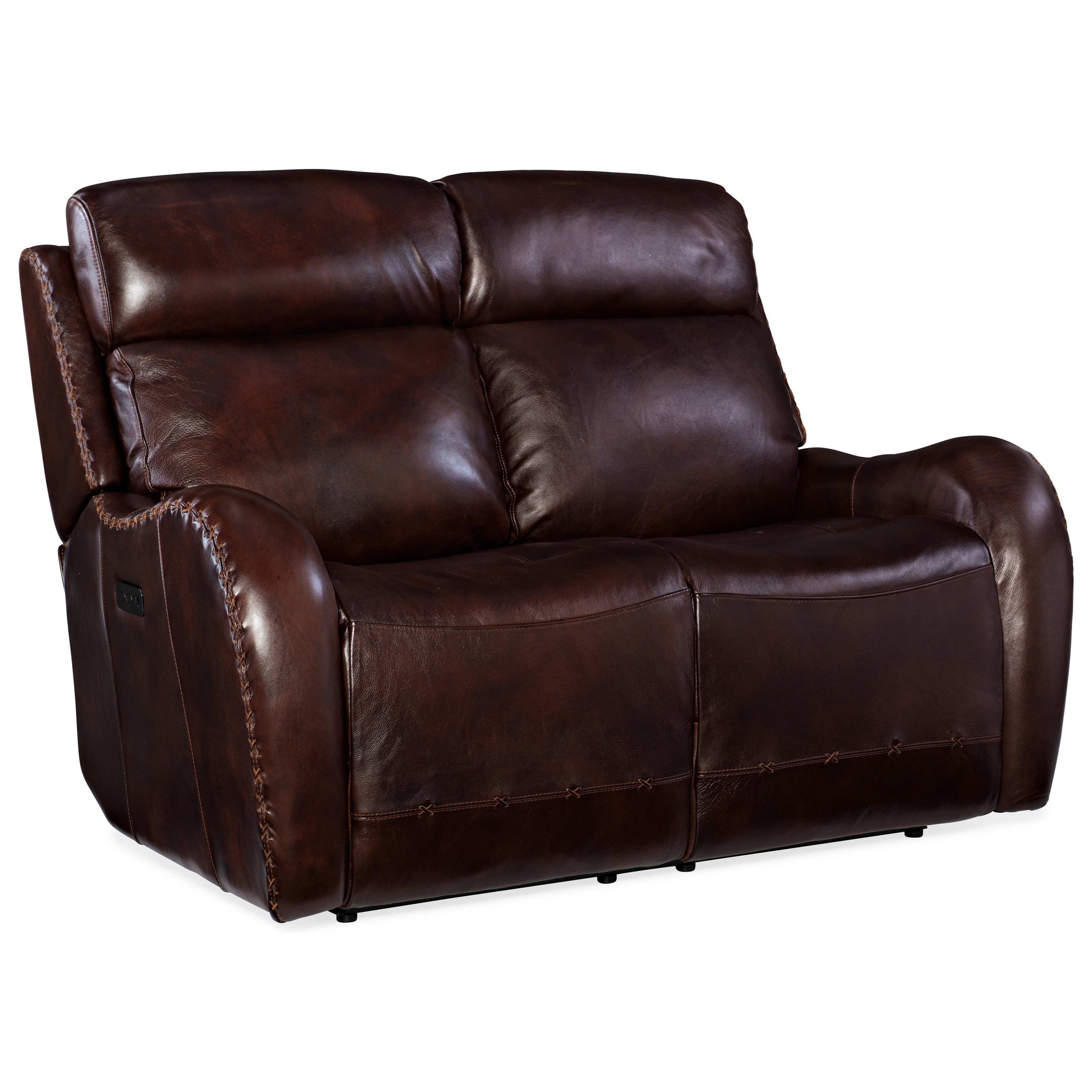 Chambers Power Reclining Loveseat by Hooker Furniture at Baer's Furniture