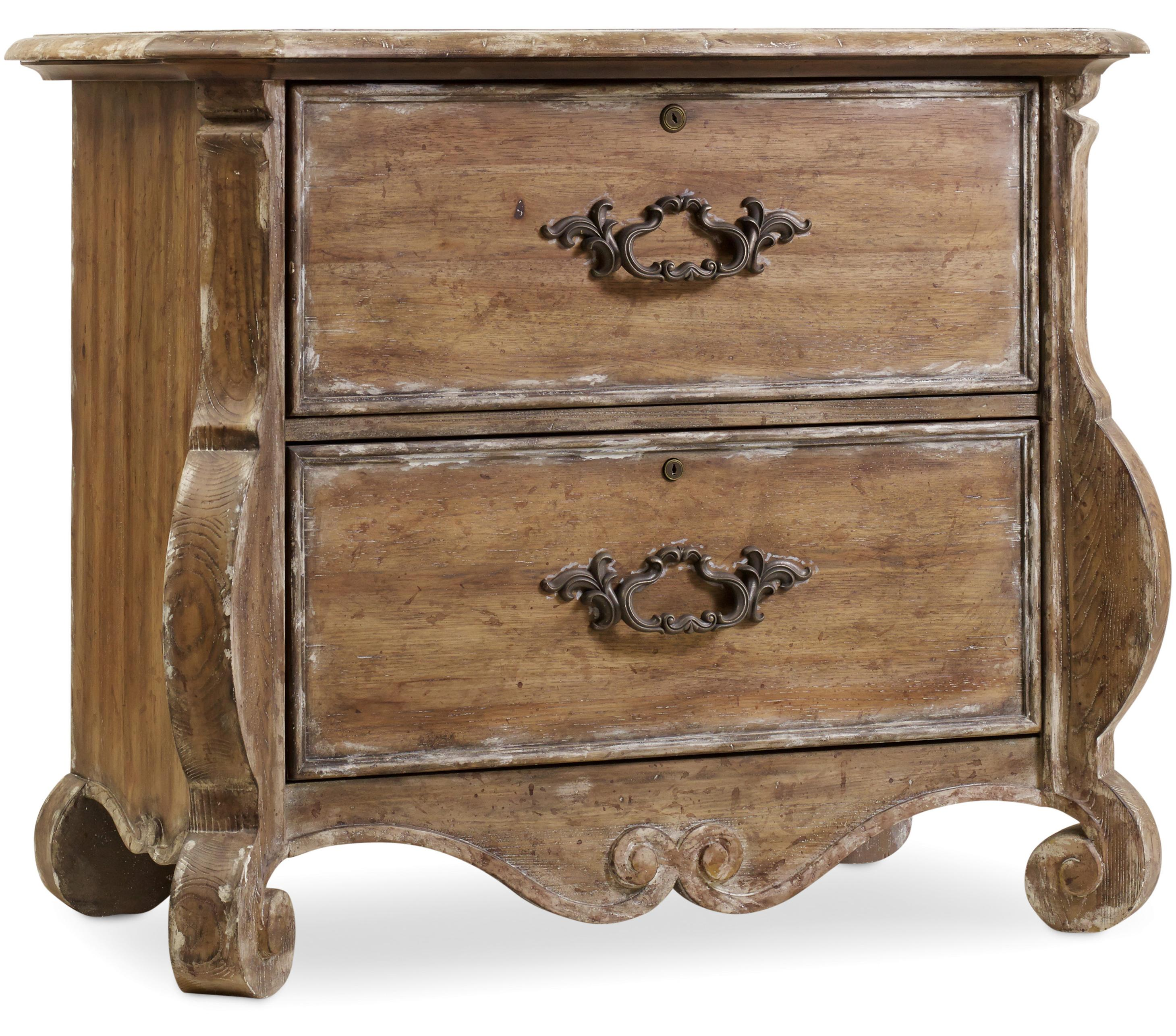 Hamilton Home Chatelet Shaped File Chest - Item Number: 5300-10466