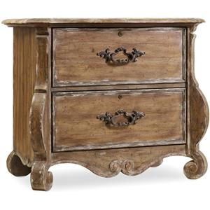 Hooker Furniture Chatelet Shaped File Chest
