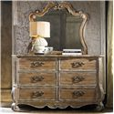 Hamilton Home Chatelet Dresser and Mirror Set - Item Number: 5300-90001+9
