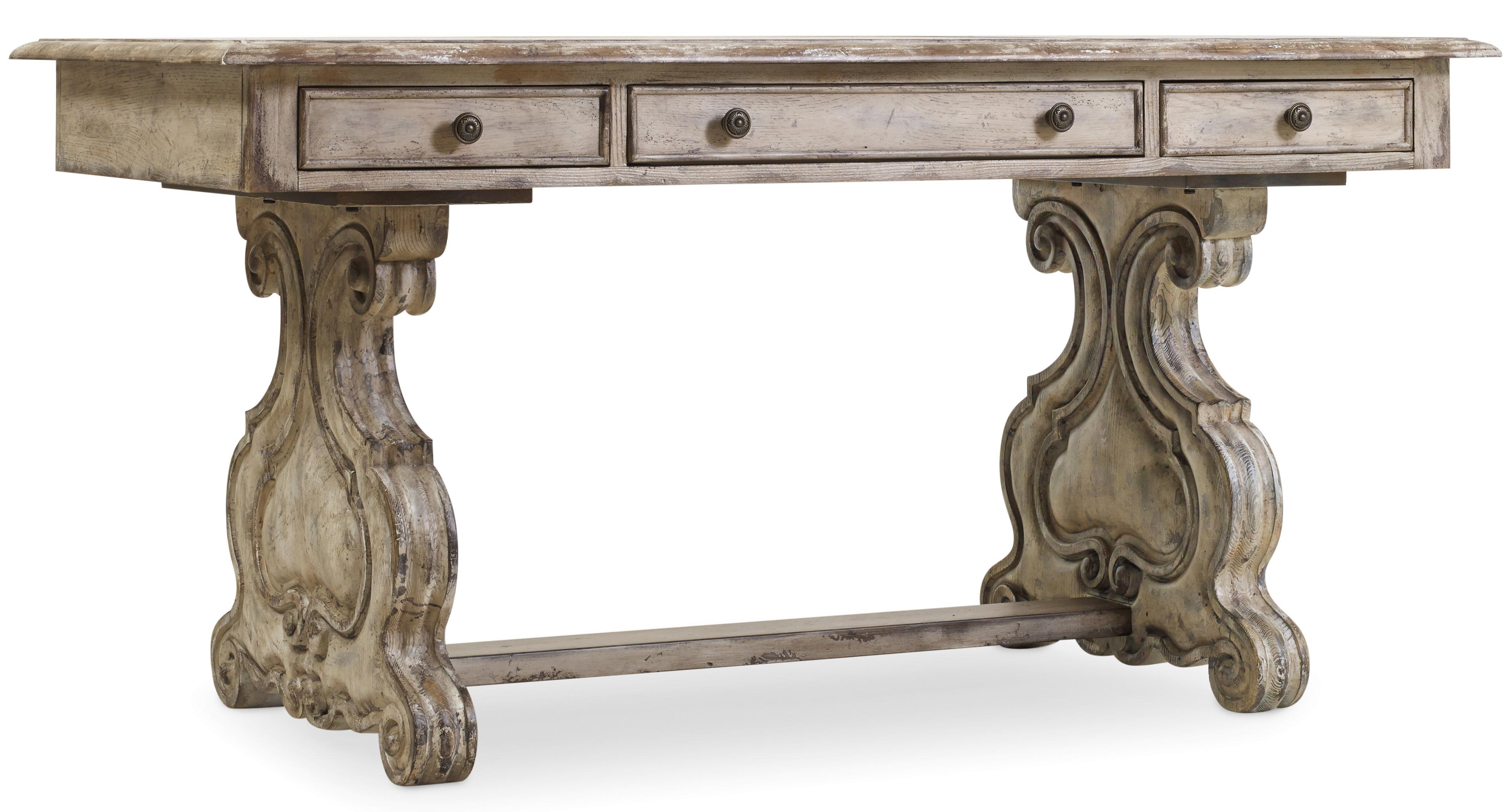 Hooker Furniture Chatelet Trestle Writing Desk - Item Number: 5350-10459