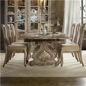 Hamilton Home Chatelet 7 Piece Dining Set