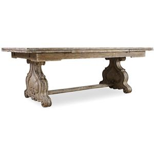 Hamilton Home Chatelet Refectory Rectangle Trestle Dining Table