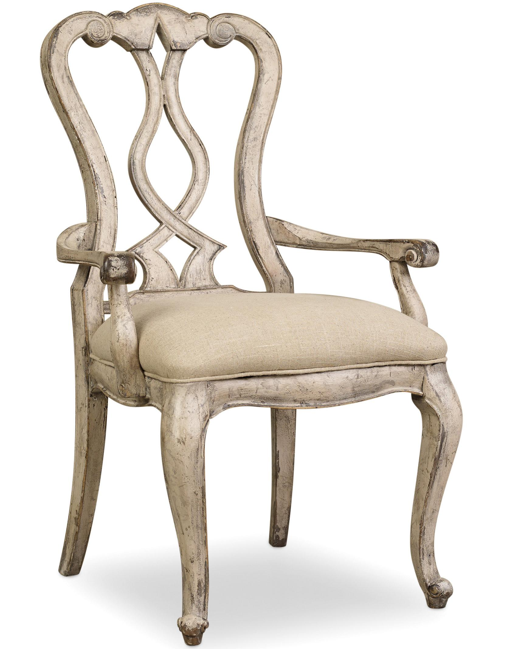 Hamilton Home Chatelet Splatback Arm Chair - Item Number: 5350-75400