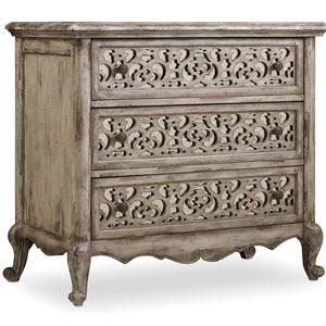 Hooker Furniture Chatelet Fretwork Nightstand
