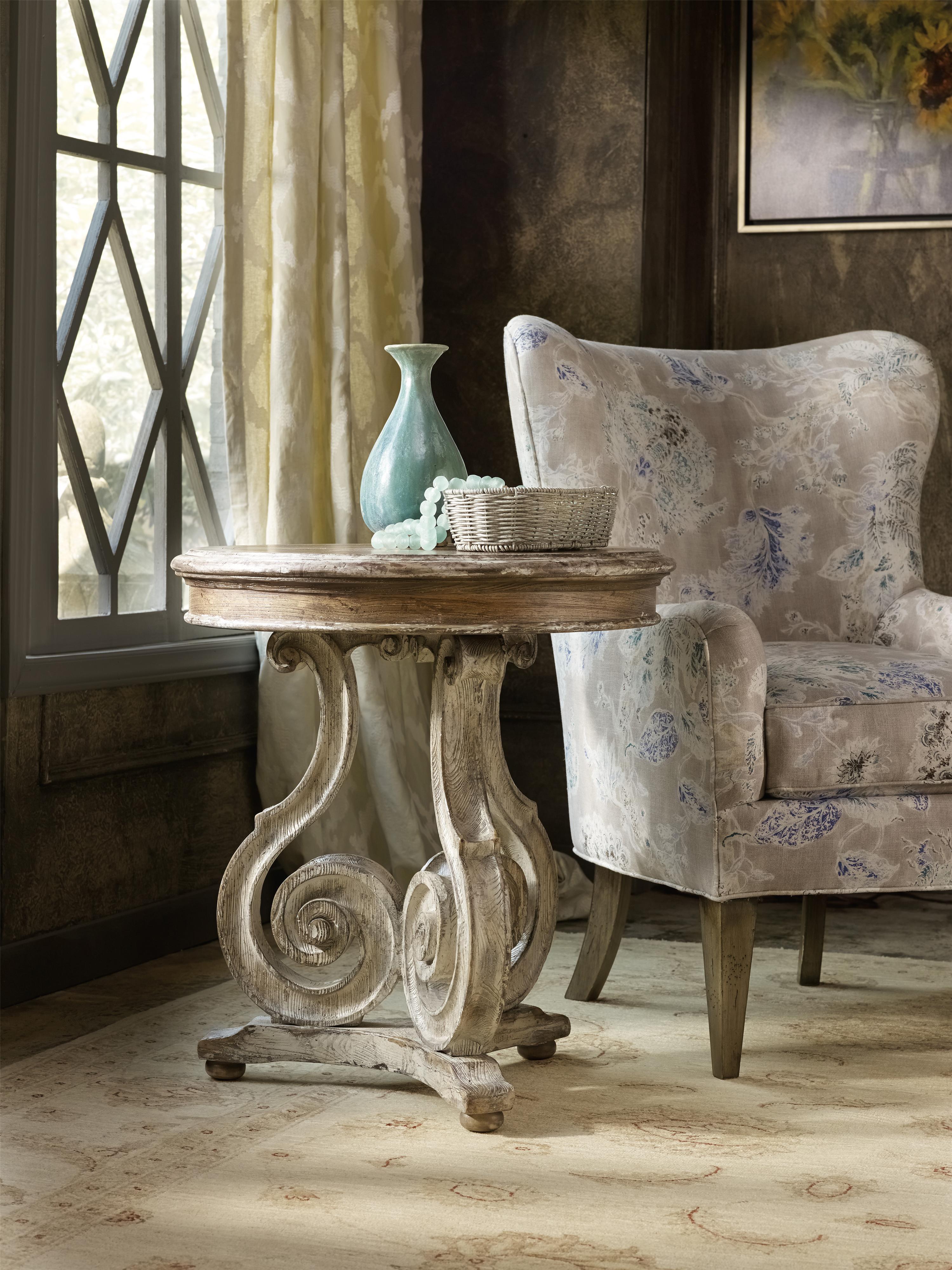 Hooker Furniture Chatelet 5351 50002 Scroll Pedestal