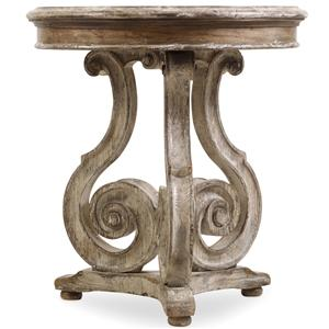 Hooker Furniture Chatelet Scroll Accent Table