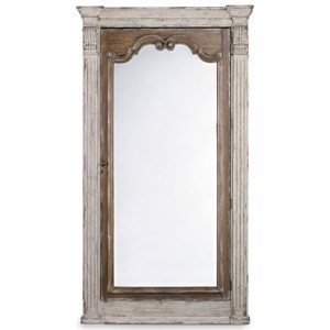 Hamilton Home Chatelet Floor Mirror with Jewelry Armoire Storage