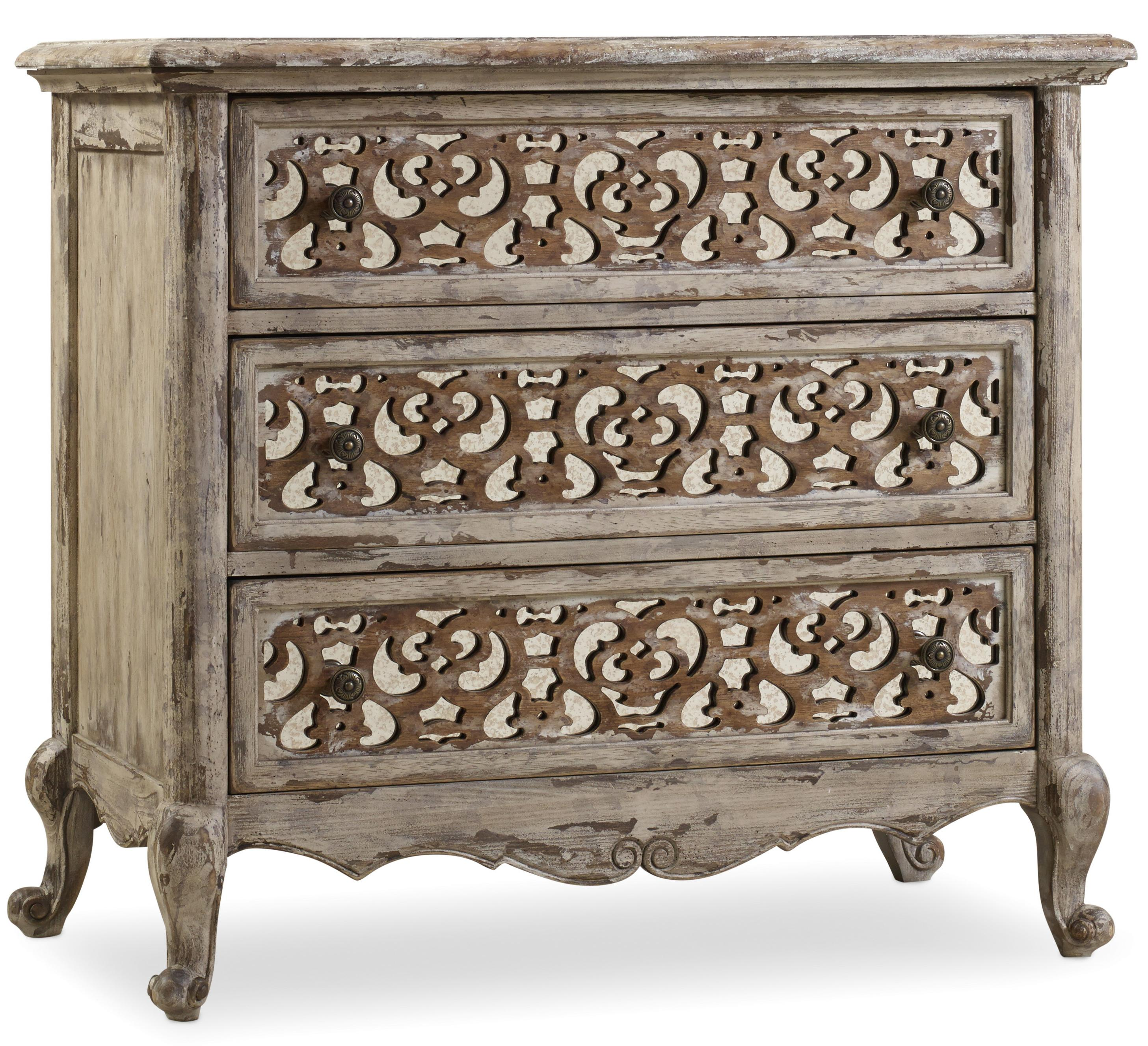 Hooker Furniture Chatelet Fretwork Nightstand - Item Number: 5351-90016