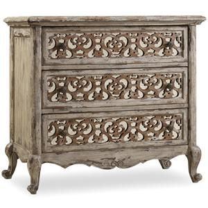 Hamilton Home Chatelet Fretwork Nightstand
