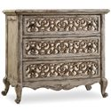 Hooker Furniture Chatelet Fretwork Nightstand with 3 Drawers