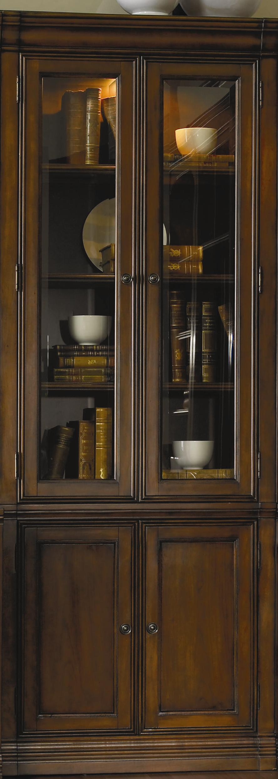 Hamilton Home Cherry Creek  Wall Curio Cabinet - Item Number: 258-70-447
