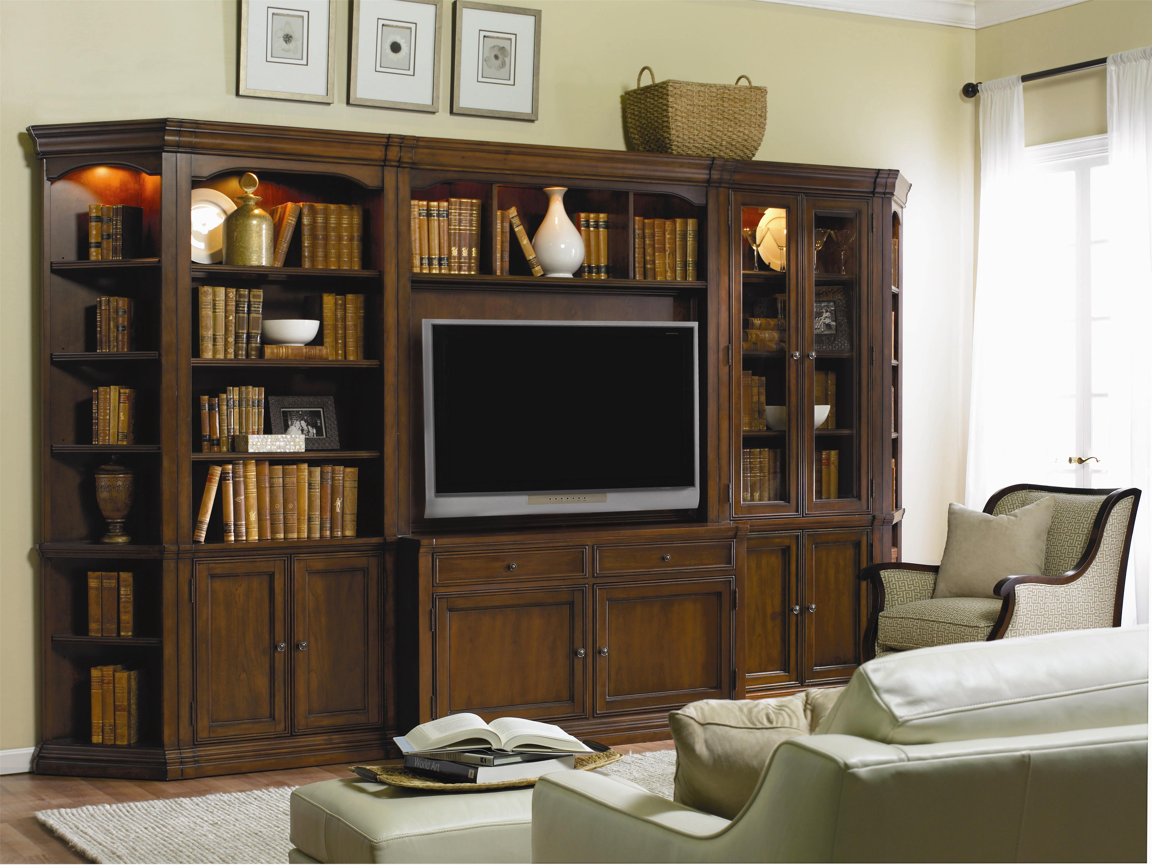 Hooker Furniture Cherry Creek  Modular Wall System - Item Number: 258-70-450+446+554+447