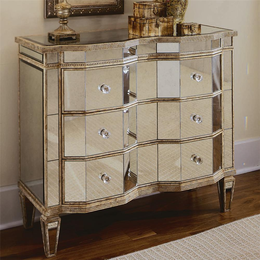 Mirrored Cabinet: Hooker Furniture Chests And Consoles Mirrored Chest With 3