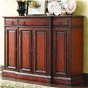 Hooker Furniture Chests and Consoles Tall Waisted Breakfront Credenza - 973-85-122