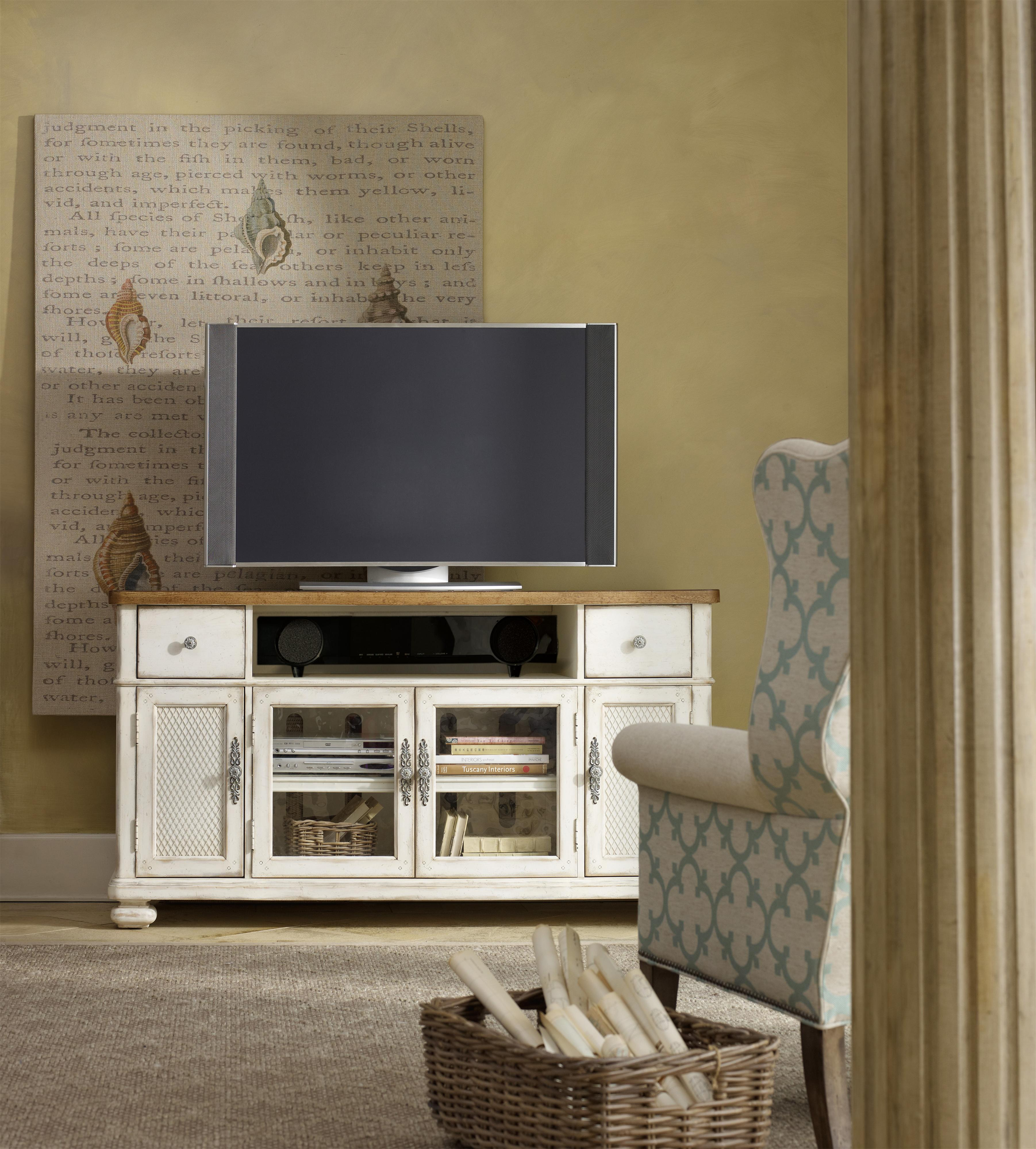 Chic Coterie Contemporary Casual Media Chest with