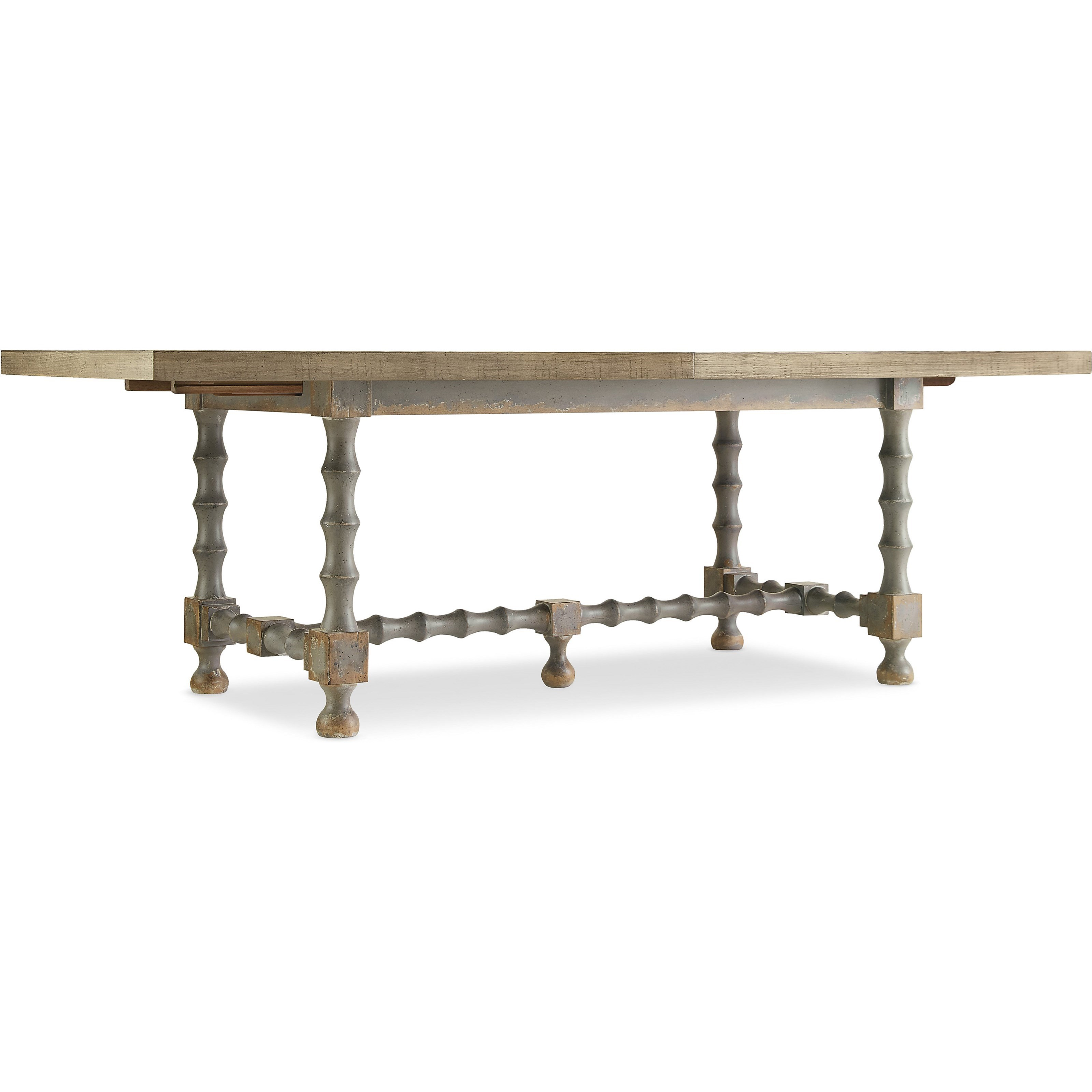 84in Trestle Table with Leaves