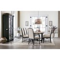 Hooker Furniture Ciao Bella Formal Dining Room Group - Item Number: 5805-99 Dining Room Group 1