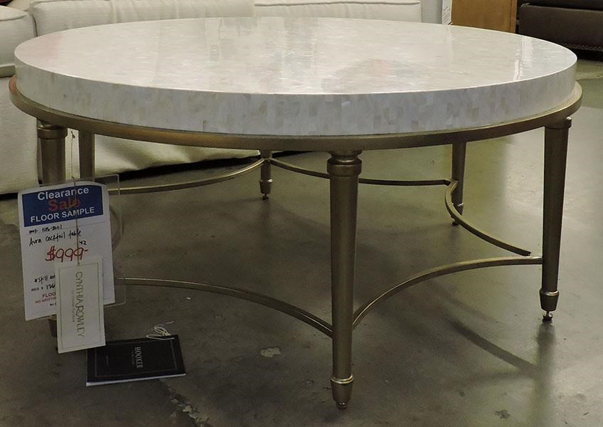 Hooker Furniture Clearance Aura Cocktail Table - Item Number: 053392197
