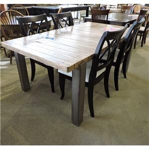 Metal Leg Table
