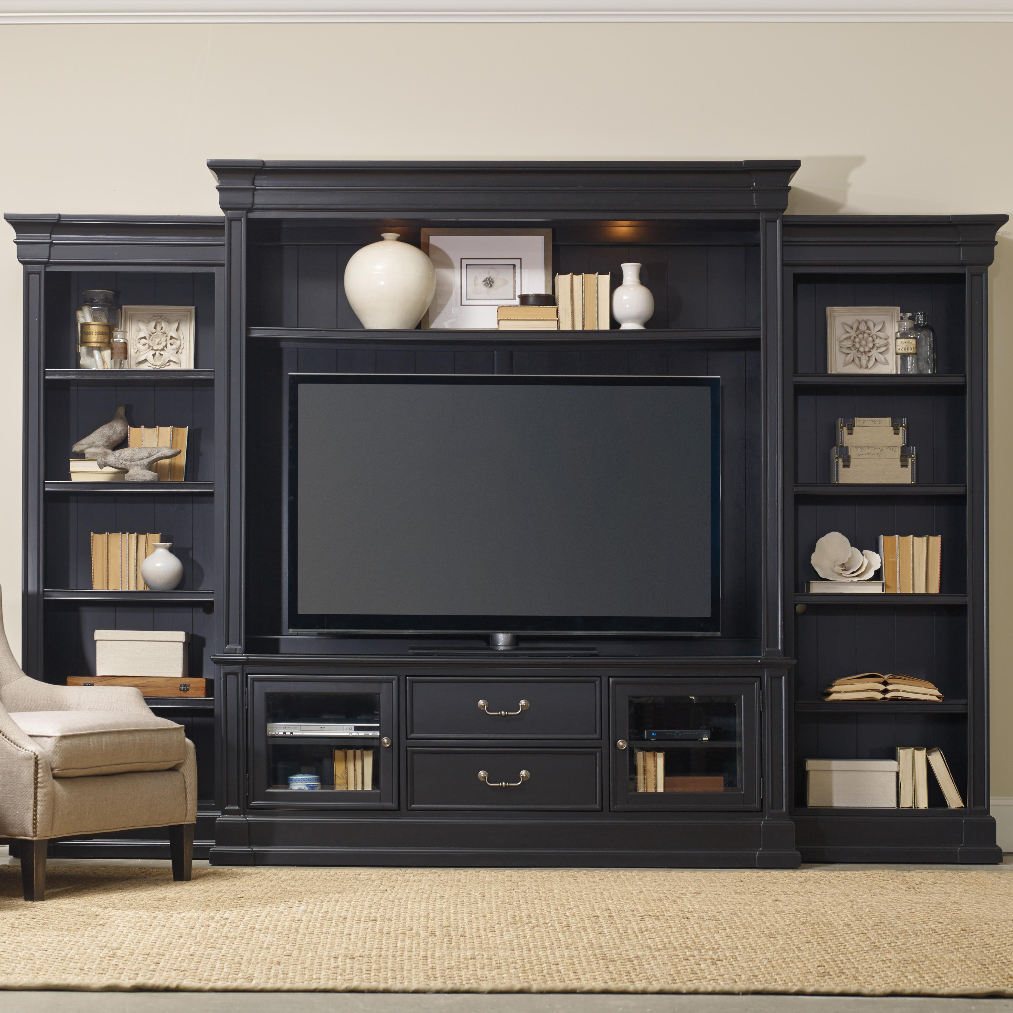 Hooker Furniture Clermont Four Piece Entertainment Group