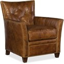 Hooker Furniture Conner CC503 Leather Club Chair - Item Number: CC503-087