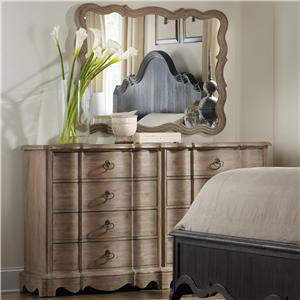 Hooker Furniture Corsica Dresser and Mirror