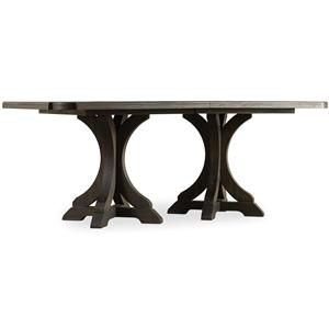 Hamilton Home Corsica Rectangle Pedestal Dining Table