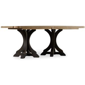 Hooker Furniture Corsica Rectangle Pedestal Dining Table