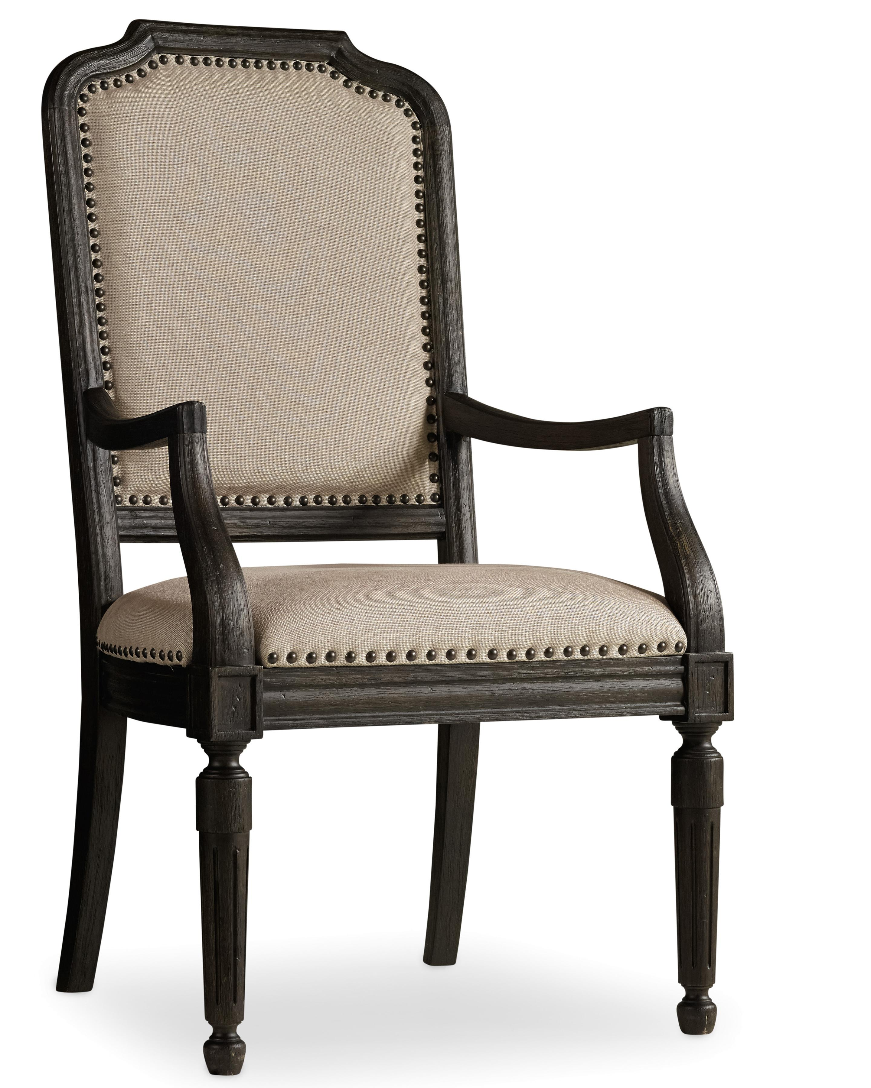 Hooker Furniture Corsica Upholstered Arm Chair - Item Number: 5280-75401