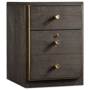 Hooker Furniture Curata Modern Wooden Lateral File