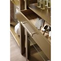 Hooker Furniture Curata Modern Open Bookcase