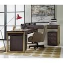 Hooker Furniture Curata Short Modern Wooden Writing Desk