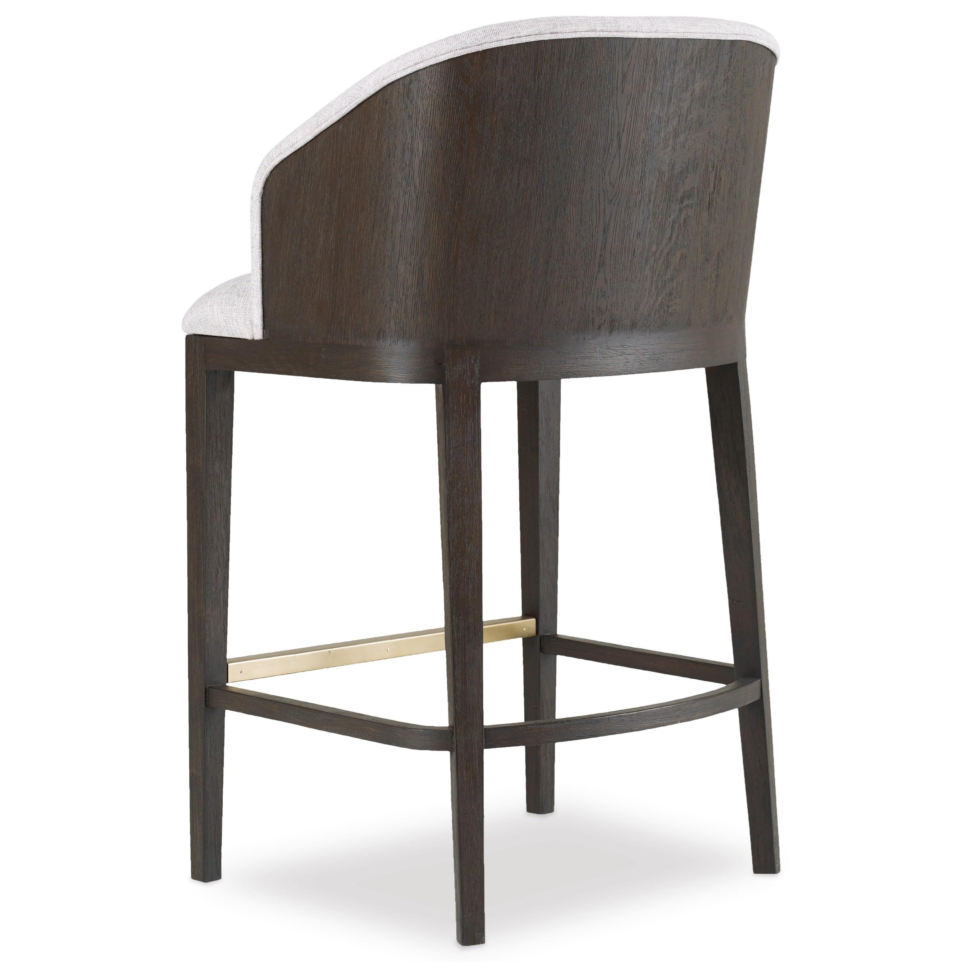 Hooker Furniture Curata Upholstered Bar Stool Stoney