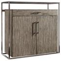 Hooker Furniture Curata Modern Bar Cabinet - Item Number: 1600-50001-MWD