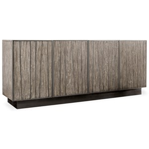 Modern Wooden Entertainment Console