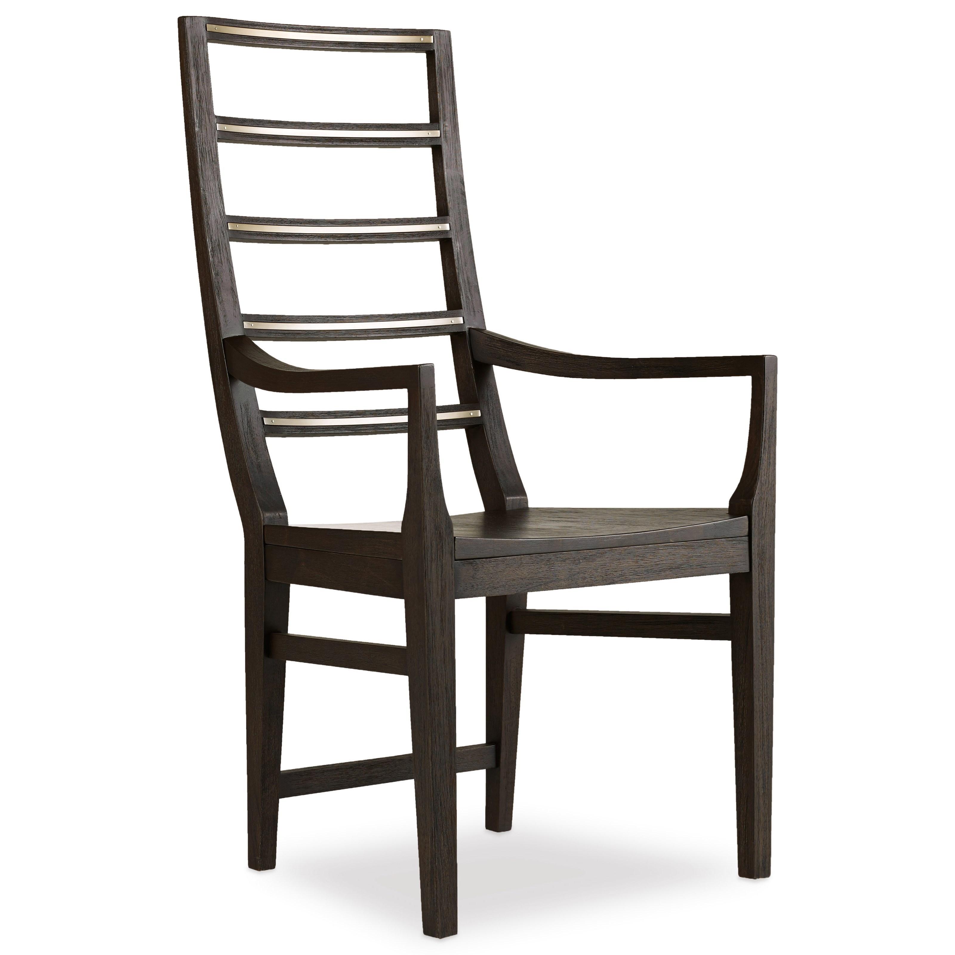 Hooker Furniture Curata 1600 75300 Dkw Ladderback Arm