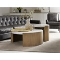 Hooker Furniture Curata Modern Round End Table