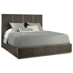 Modern King Low Bed