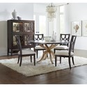 Hooker Furniture Curvee Casual Dining Room Group - Item Number: 5834 Dining Room Group 1