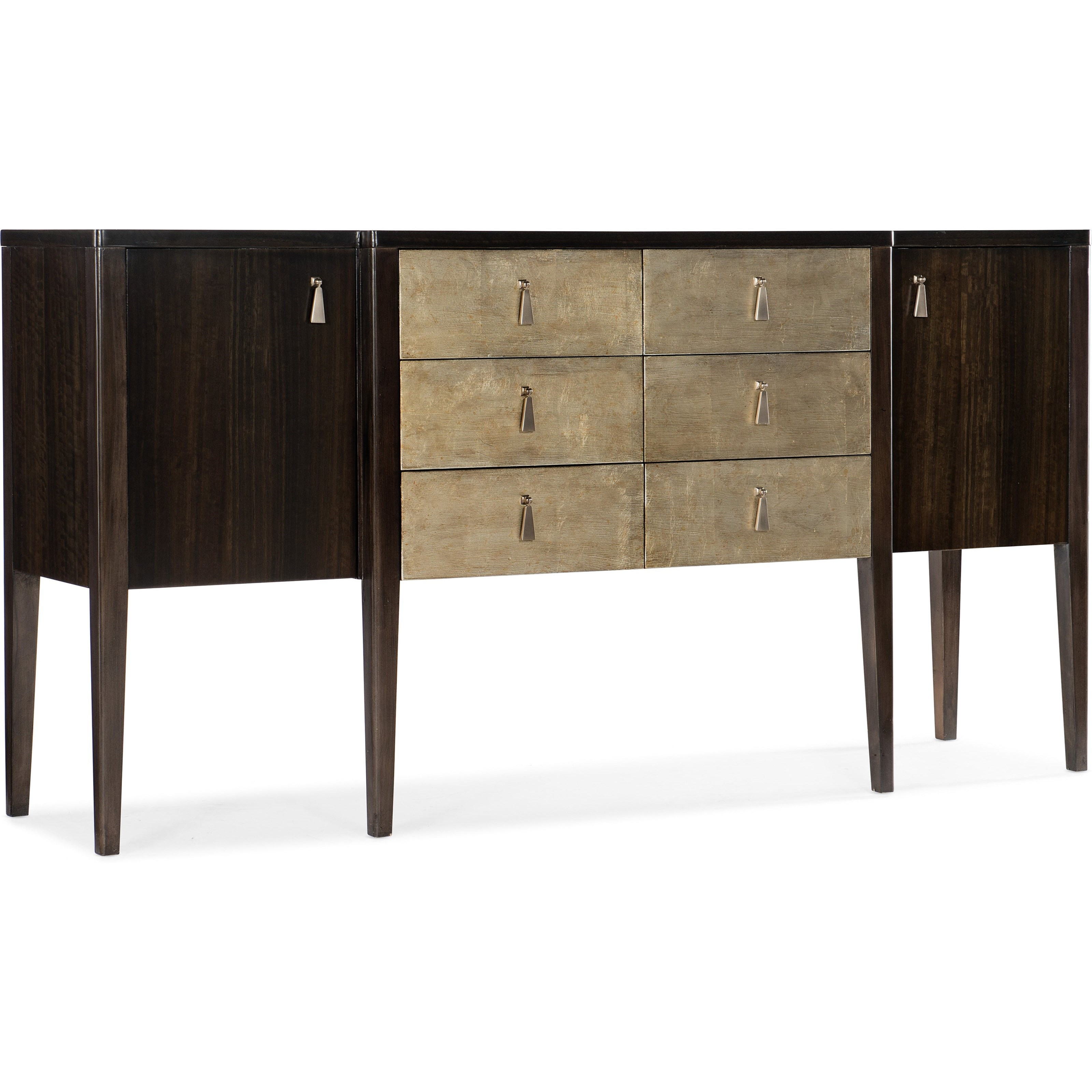 Curvee Server by Hooker Furniture at Stoney Creek Furniture