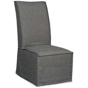 Hamilton Home Decorator Chairs   Zuma Charcoal Armless Dining Chair
