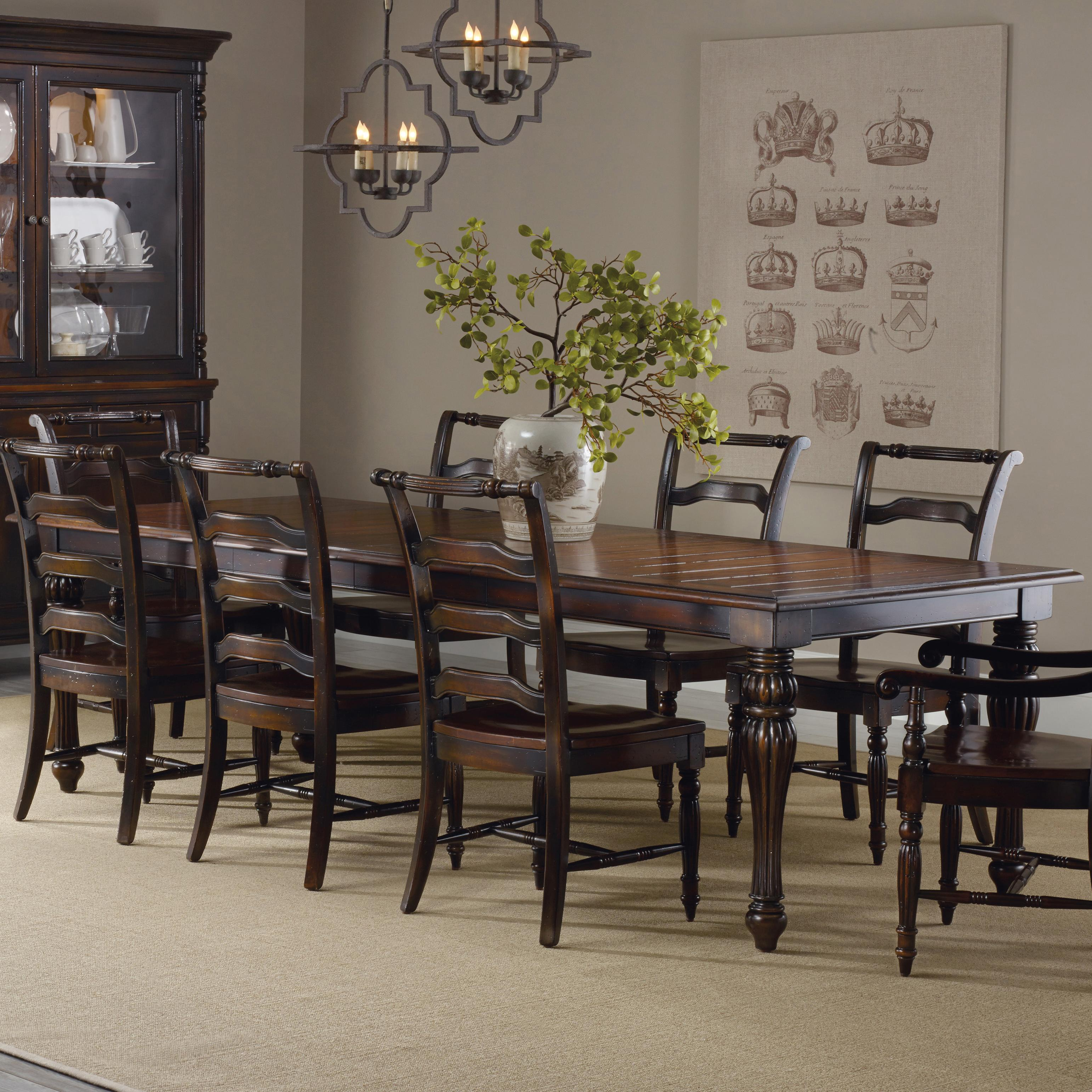Hooker Furniture Eastridge Rectangle Dining Table - Item Number: 5177-75200