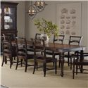 Hooker Furniture Eastridge Rectangle Dining Table with 2 18-Inch Leaves