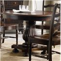 Hamilton Home Eastridge Round Pedestal Dining Table - Item Number: 5177-75203