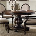 Hooker Furniture Eastridge Round Pedestal Dining Table - Item Number: 5177-75206