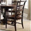 Hooker Furniture Eastridge Ladderback Side Chair with Turned Front Legs